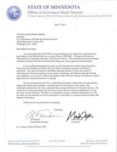 Minnestoa Letter to NIH