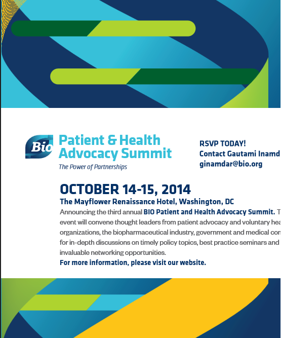 Bio Patient Health Advocacy Summit
