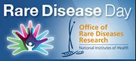 Rare Disease Day NIH logo
